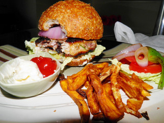 Summerlicious - Week 4 - Mediterranean Chicken Burgers