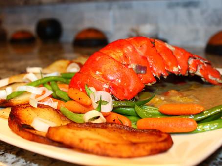 Spring Freshness Week 3 - Baked Lobster Tail