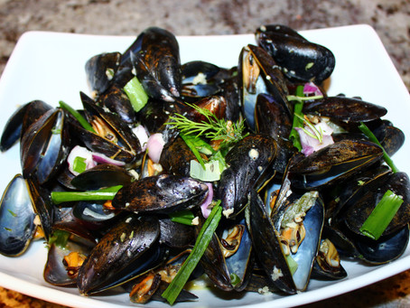 30 Minute Meals - Week 4 - Mussels in a Blue Cheese Sauce