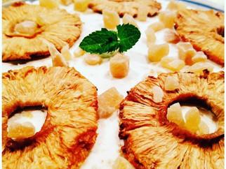 Spring Freshness Week 4 - Caramelized Pineapple Cream Crepe Cake