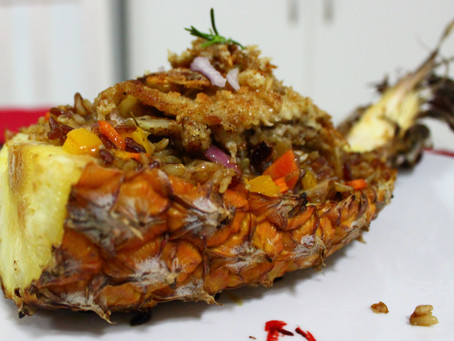 Island Inspiration - Week 3 - Macadamia and Coconut Crusted Fillet of White Fish