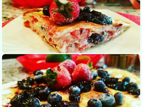 Spring Freshness - Week 1- Strawberry Yogurt Crepe Cake (Breakfast Version) - Sweden