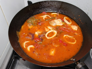 Winter Warmers - Week 1 - Brazilian Seafood Soup (Moqueca de Fruitos do Mar) - Brazil