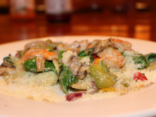 30 Minute Meals - Week 2 - Ricotta and Spinach Ravioli with a Shrimp and Mushroom Sauce - Italy