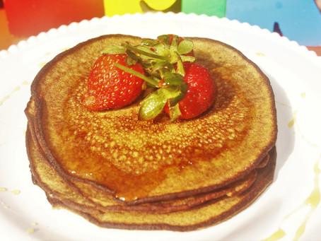 Buckwheat and Pistachio Pancakes