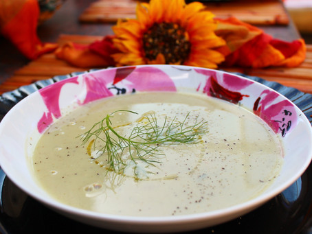 Spring Freshness - Week 3 - Cauliflower Soup