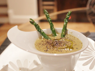 Winter Warmers - Week 2 - Cream of Asparagus Soup