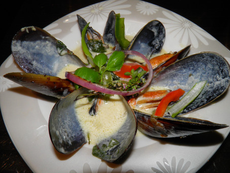 Winter Warmers - Week 5 - Mussels in a Spicy Coconut Milk Sauce – Asian Inspired