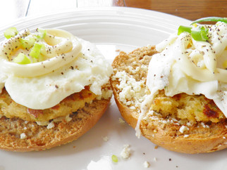 Spring and Brunch - Week 1- Crab Eggs Benedict with a Hollandaise Sauce - USA