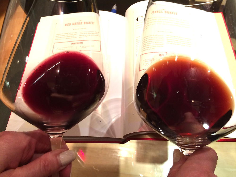 blog pic - Latour in glass next to another.jpg