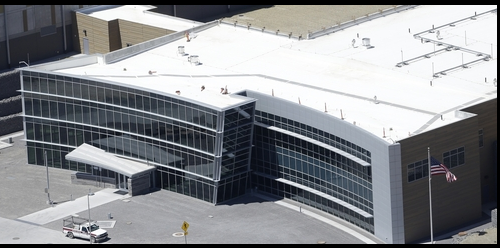 photo, shows an aerial view of the NSA's Utah Data Center in Bluffdale, Utah. The nation's new billion-dollar