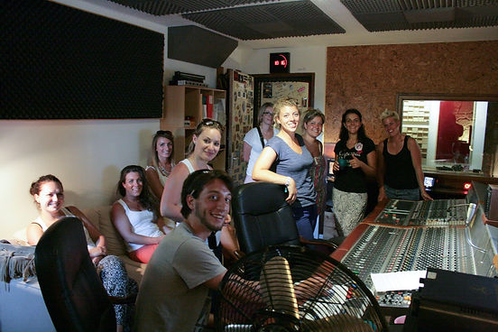 Enregistrez un disque en studio EVJF