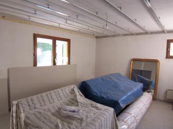 Construction du studio: le début