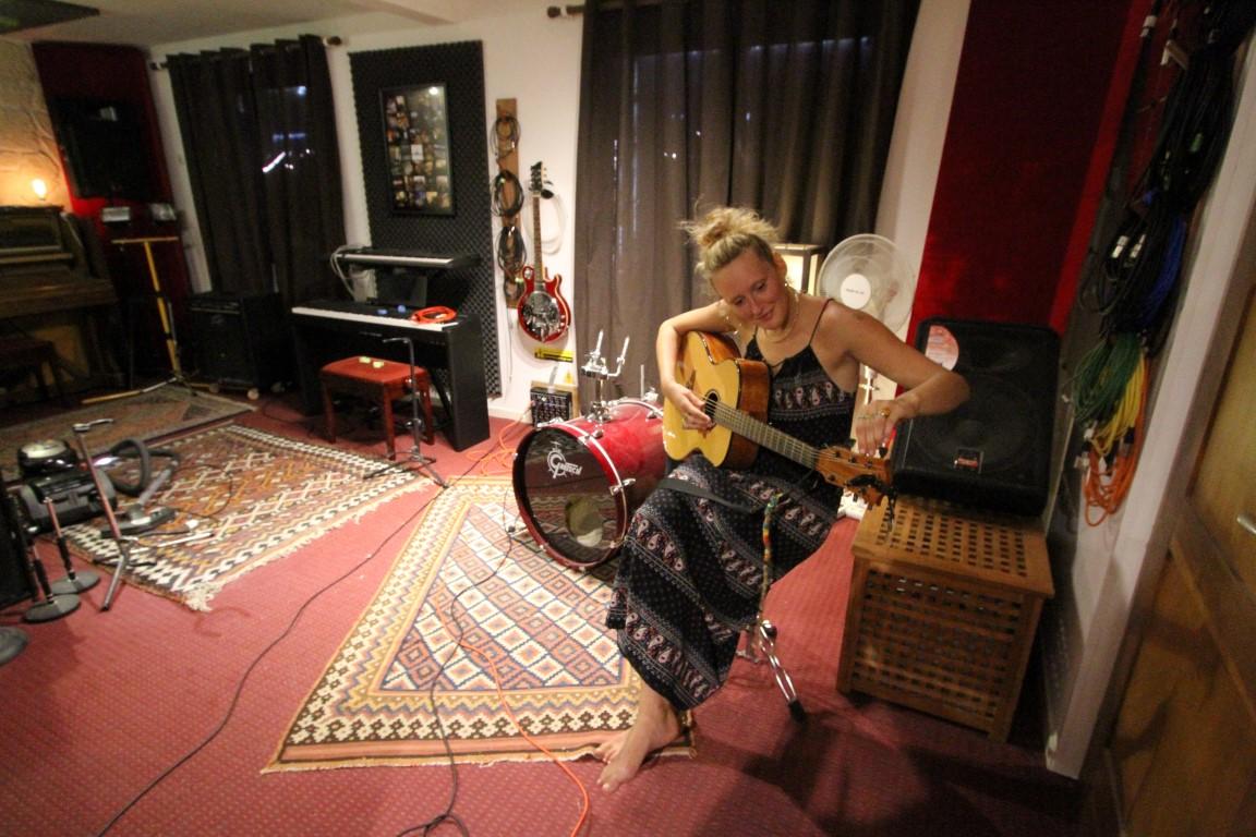 augustine au studio du lac