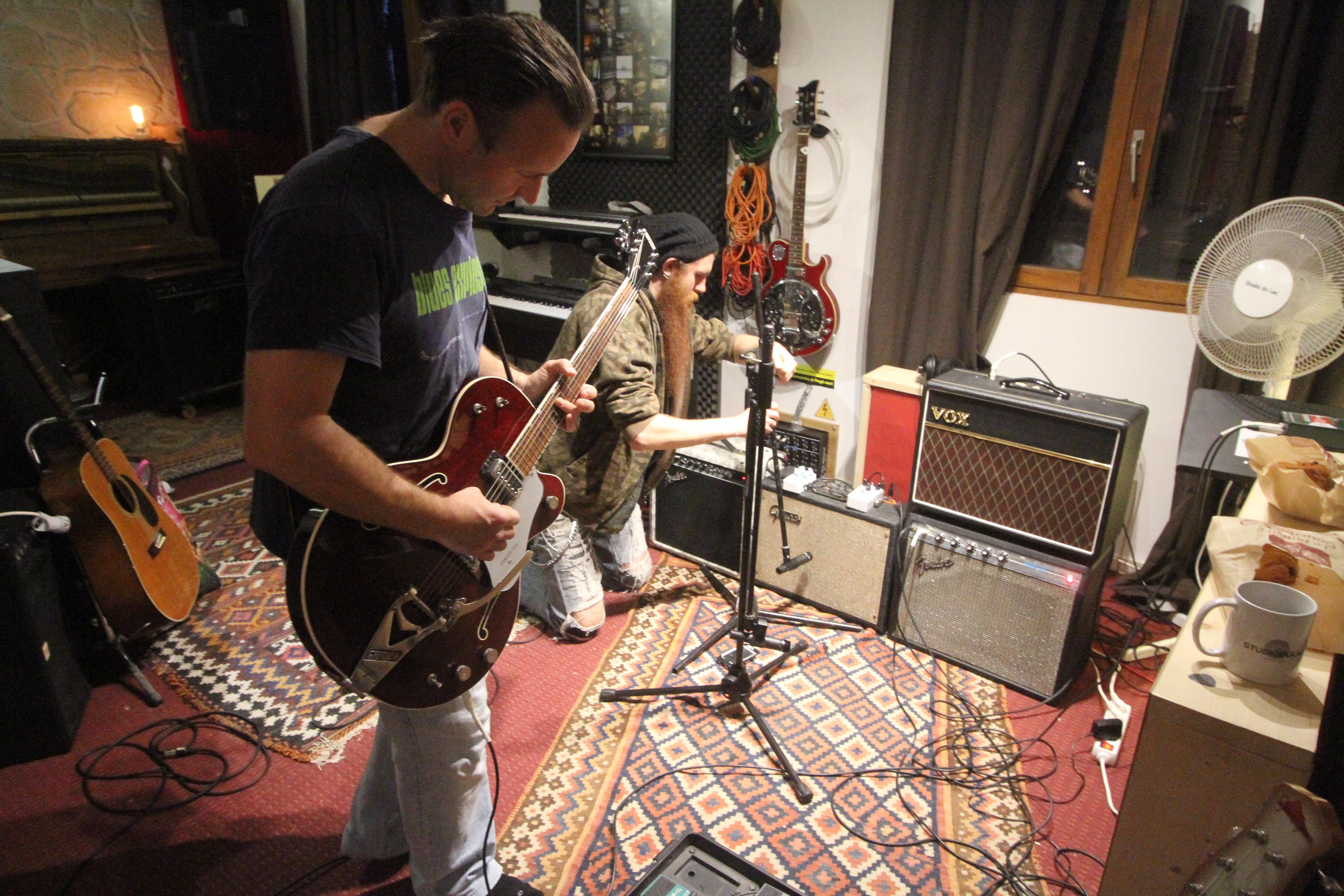 Jarmo au studio du lac