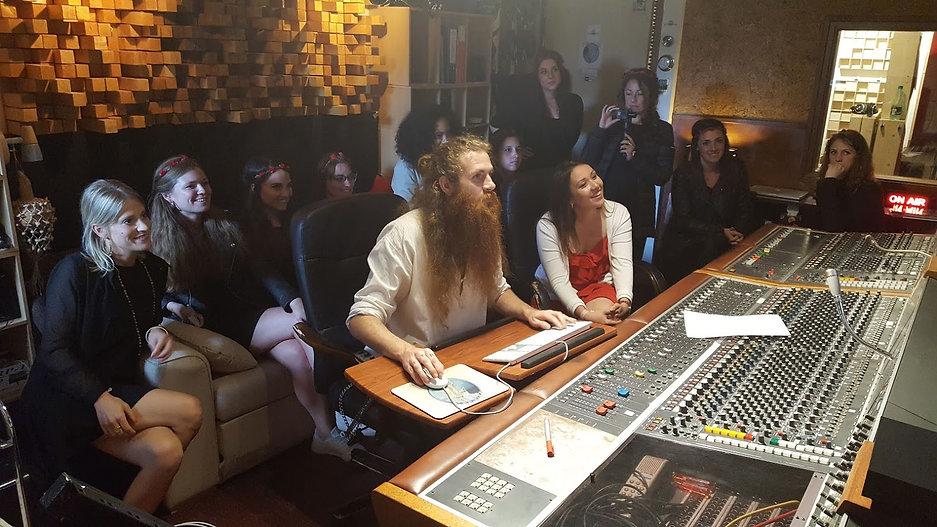 enregistrer un disque au studio du lac annecy