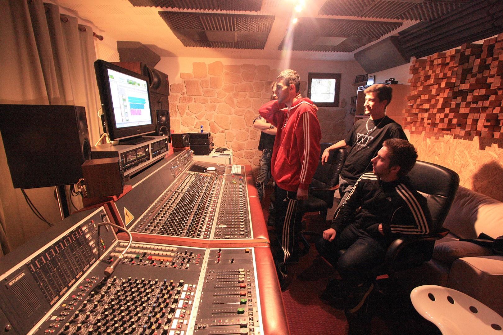 XXIe Crew de Lyon au studiodulac