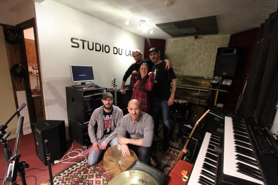 rockin diots au studio du lac