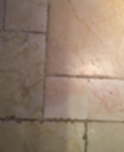 Stone Floor Repairs Before