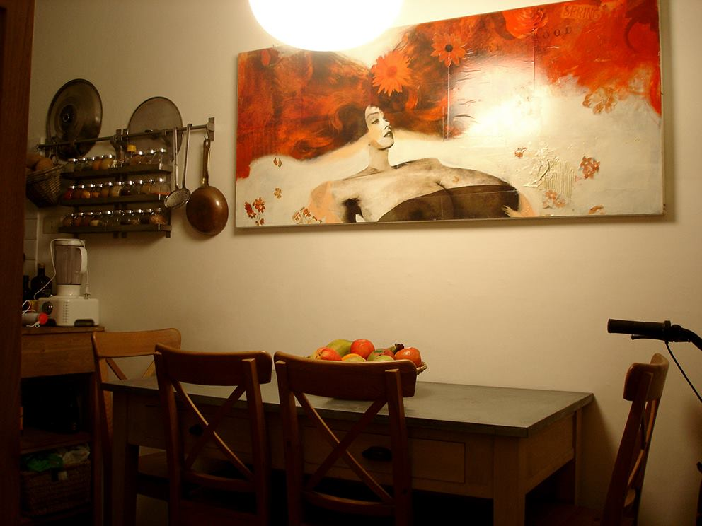 """Primavera""... kitchen wall"