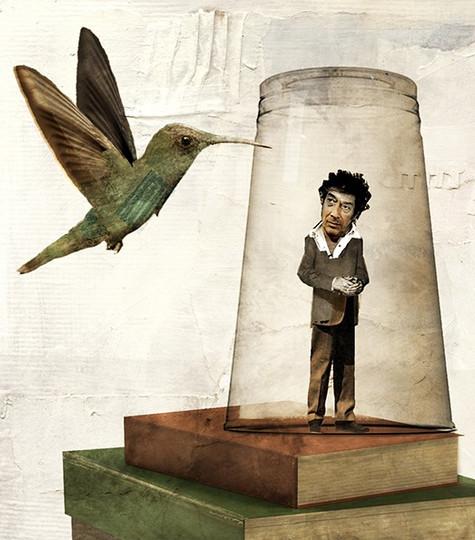 Sandro Veronesi e il colibrì