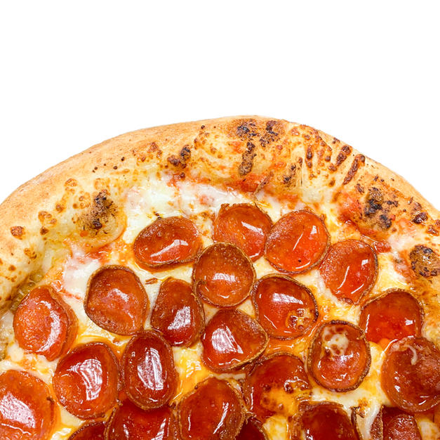 DOUBLE CUP PEPPERONI PIZZA