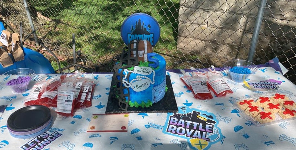 Fortnite 5th Birthday Party