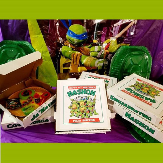 Ninja Turtles 4th Birthday Party