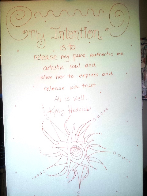 Creating an Intention