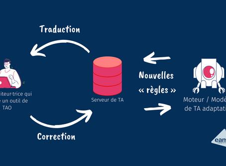 Comment fonctionne la traduction automatique adaptative ?