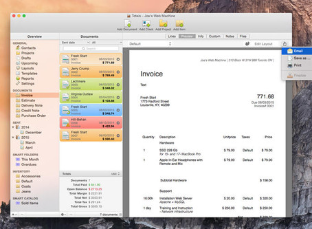 Totals: An Accounting Software for Mac Users