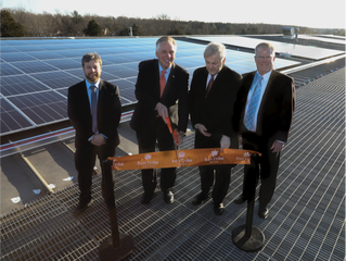 Sun Tribe Solar unveils largest net metered project in Virginia
