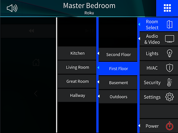 Crestron, Home automation, residential