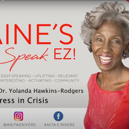 Elaine's Speak EZ: Managing Stress in Crisis EP1