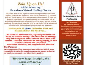 Sawubona Virtual Healing Circles