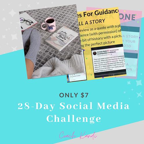 28-Day Social Media Challenge