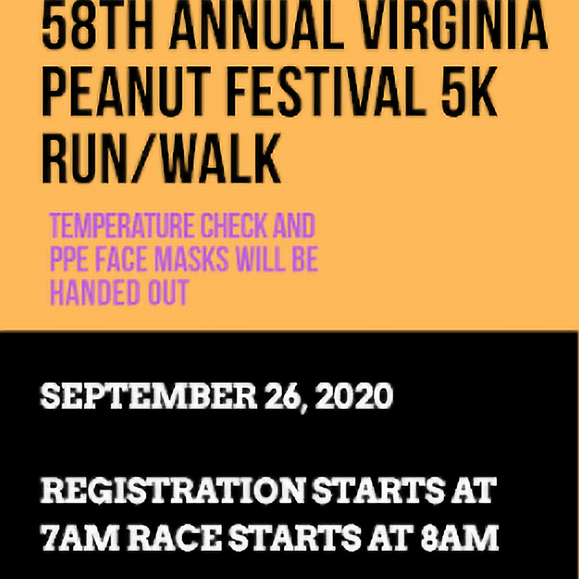 58h Annual Virginia Peanut Festival 5k
