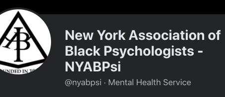 New York Association of Black Psychologists (NYABPsi)