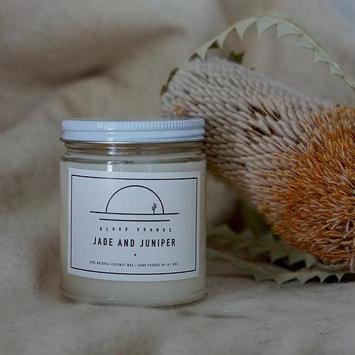 Jade & Juniper Coconut Wax Candle - Blood Orange