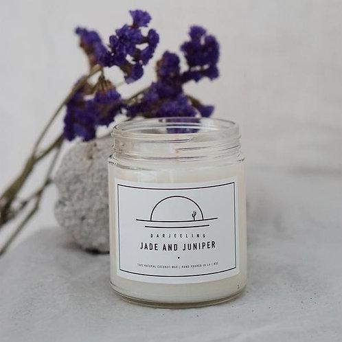 Jade & Juniper Coconut Wax Candle - Darjeeling