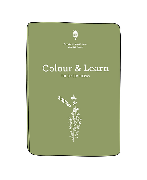 Colour & Learn - The Greek Herbs
