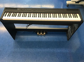 Keyboard in the music room.