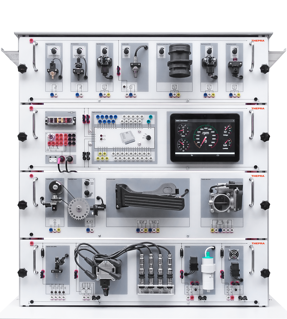 Thepra, Electude, hardware, t-varia