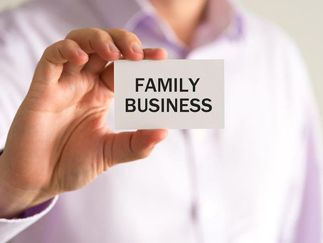 Family Business…The Business Must Come First!