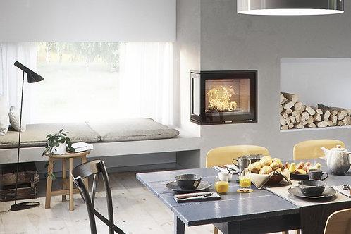 RAIS INSET 600/2 Corner Wood Burning Stove