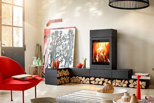 Skantherm Elements 603 FRONT Wood Burning Stove