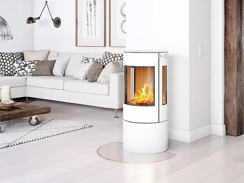 RAIS VIVA L 100 Glass Door Wood burning stove