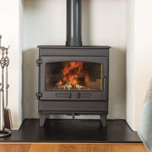 Dean Forge Croft Clearburn Slimline 5kw Eco Wood Burning Stove