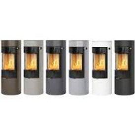 RAIS VIVA L 120  Classic Steel Frame Door Wood burning stove