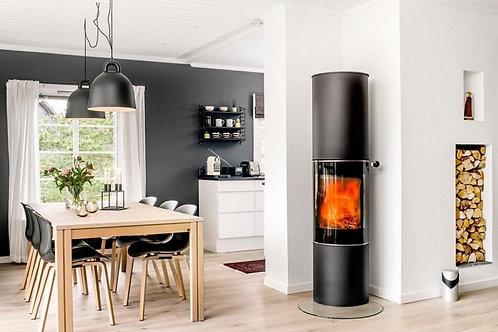 RAIS PILAR 2019 Glass Door Wood Burning Stove